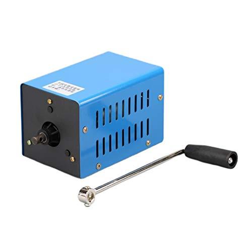 BIlinli Tragbarer Notstromgenerator-Wechselrichter im Freien Manueller Kurbeldynamo
