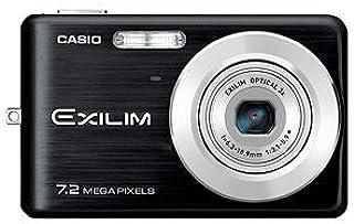 Casio EXILIM EX Z77 BK Digitalkamera (7 Megapixel, 3 Fach Opt. Zoom, 6,6 cm (2,6 Zoll) Display) schwarz