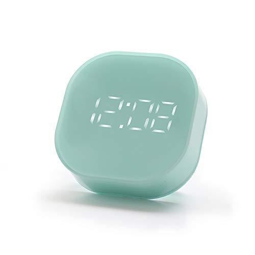 DyNamic Minuterie De Cuisine Compte À Rebours Chronomètre Réveil Creative Double Température ? / ° F Électronique Accueil Thermomètre Magnétique Horloge Minuterie - vert