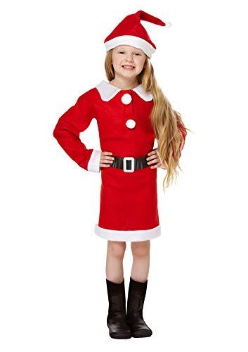Santa - Disfraz de Papá Noel para niña, talla 7 (134)