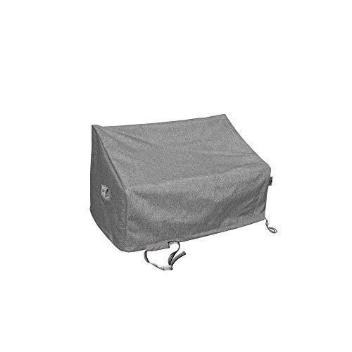 Shield Platinum - Funda para sofá de Dos plazas (3 Capas, Resistente al Agua), Color Gris