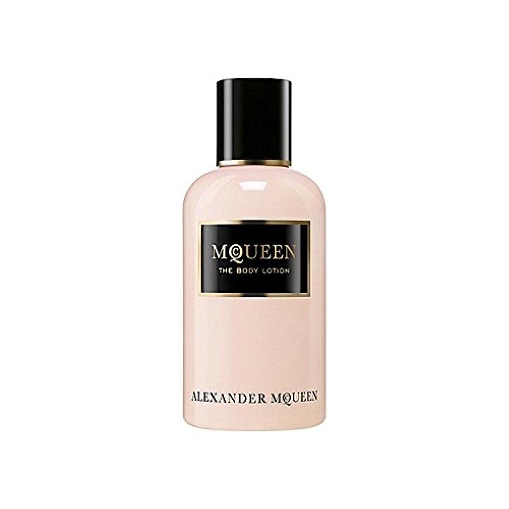 柔らかさスツール巡礼者アレキサンダーマックイーンマックイーンオードパルファムボディローション250ミリリットル x2 - Alexander Mcqueen Amq Mcqueen Eau De Parfum Body Lotion 250ml (Pack of 2) [並行輸入品]