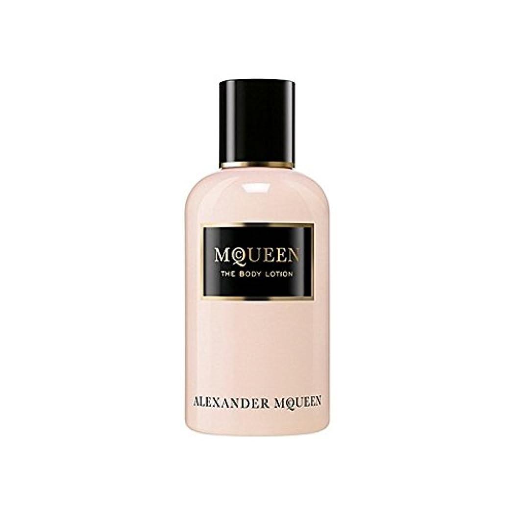 ロゴライバルアイドルAlexander Mcqueen Amq Mcqueen Eau De Parfum Body Lotion 250ml - アレキサンダーマックイーンマックイーンオードパルファムボディローション250ミリリットル [並行輸入品]