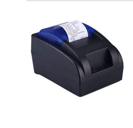 Stampante termica per ricevute USB 58MM, stampa ad alta velocità 90mm   sec, compatibile con comandi di stampa ESC POS Set-EU Plug