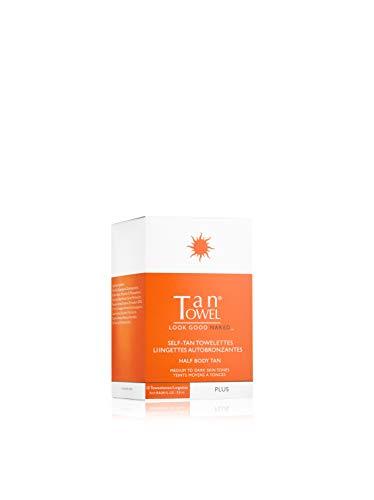 Toallitas autobronceadoras – Tantowel Plus Half Body