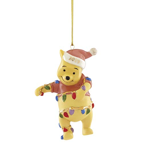 Lenox 884444 Disney 2019 Pooh's Bright Ideas Ornament