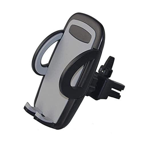 Diaod Holder-360 Grados de rotación de teléfono de Larga duración Garra Salida de Aire del Montaje del Coche del teléfono Celular for teléfonos Inteligentes (Color : A)
