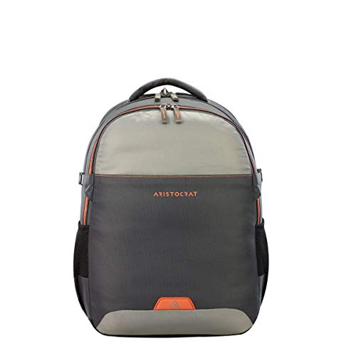 Aristocrat 34 Ltrs Laptop Backpack (LPBPDIG2GRY_Grey)