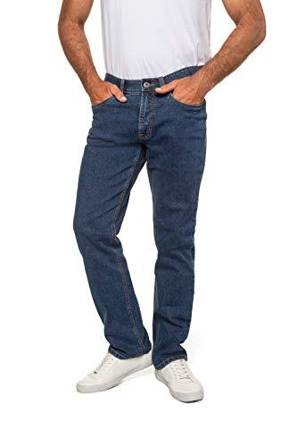 Jeans, Denim-Hose im 5-Pocket-Style, Stretch-Komfort, elastischer Bund & Regular Fit Blue Stone 30 708068 91-30