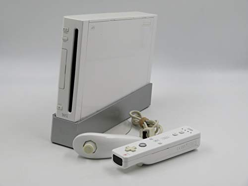 Nintendo Wii Console, White RVL-101 (NEWEST MODEL) [video game]