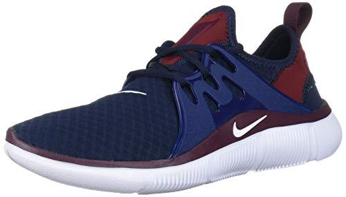 Nike Men's Acalme Sneaker, Obsidian/White-Blue Void, 6 Regular US
