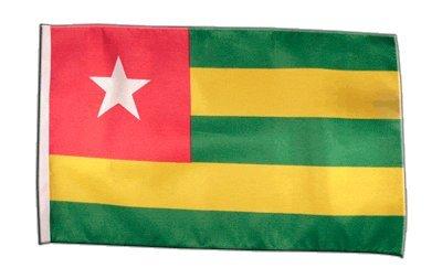 Fahne Flagge Togo 30 x45 cm