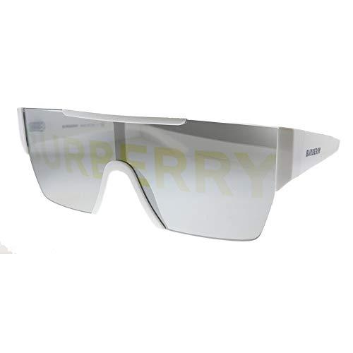 Burberry Gafas de Sol BE 4291 White/Grey Gold Hombre