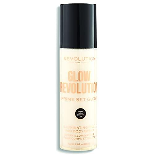 Revolution – Spray viso e corpo – Glow Revolution – Illuminating Face & Body Spray – Eternal Gold