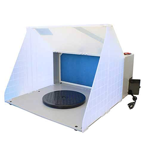 Paasche Airbrush Company Hobby Spray Booth: 16.5' W x 13.5 H x 19' D, PASHB1613