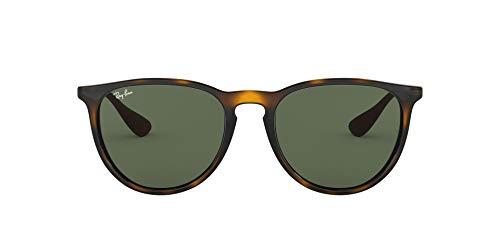 Ray-Ban Unisex Rb4171 Sonnenbrille, Braun (Gestell: havana/gunmetal, Gläserfarbe: grün klassisch 710/71), Medium (Herstellergröße: 54)