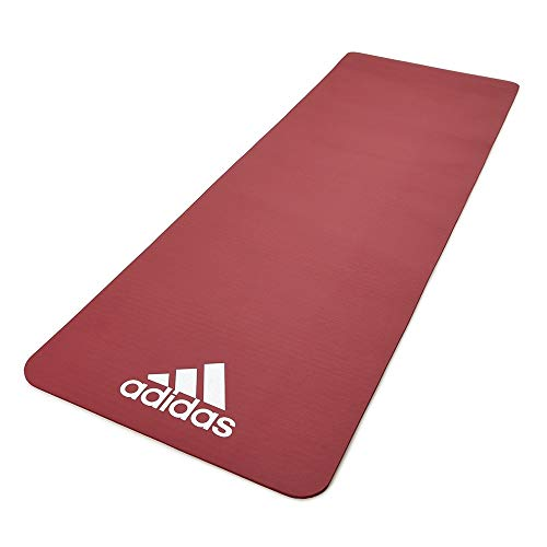 adidas 7mm Trainingsmatte, rot