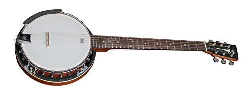 VGS Gitarrenbanjo Select, 6-saitig, Mahagonikessel mit 24 Spannschrauben