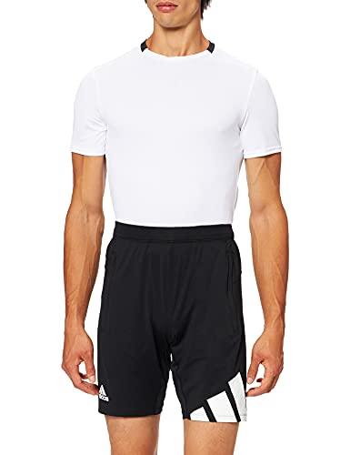 adidas Herren 4k 3 Bar Shorts, Schwarz, XL EU