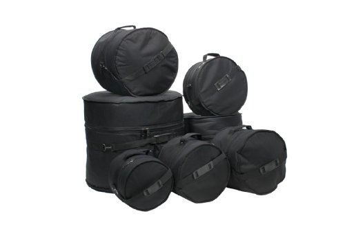 4. XSPRO 7 Piece Deluxe Padded Drum Bag