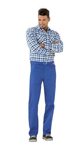 Planam Cotton Bundhose kornblau | 52