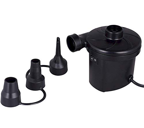 HT198 Duck Covers Duck Dome Airbags Electric Air Pump Black 5 in L x 4. 5 in W x 4 in H 1