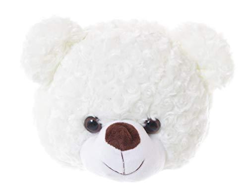 LB-135-1 Weiß Teddy Bär Kopf Umhänge Tasche Lolita Harajuku Pastel Goth Kawaii