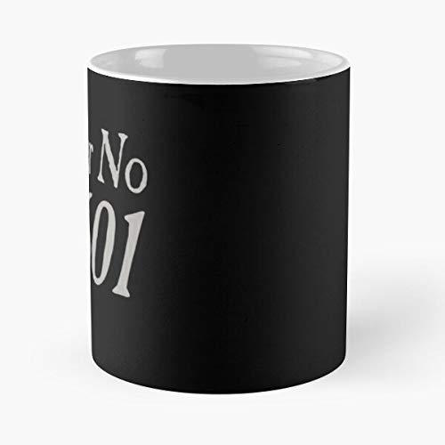 24601 No Movie Number Les Quote Miserables Prisoner Movies Eat Food Bite John Best Taza de café de cerámica de 11 oz