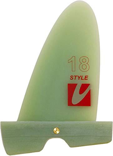 Maui Ultra Fins MUF Style Windsurf Freestyle Finne, Finnenlänge:22cm, Finnen Box:Powerbox