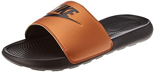 Nike Victori One Slide, Sandal Mujer, Black/Black-Metallic Copper, 44.5 EU