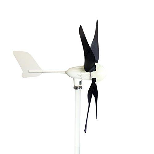 Hot Sale Windmax HY400 500 Watt Max 12-Volt 5-Blade Residential Wind Generator Kit