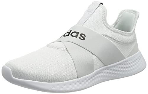 adidas Puremotion Adapt, Scarpe da Running Donna, Bianco, Nero, Grigio (Ftwbla Negbás Gripal), 38 EU