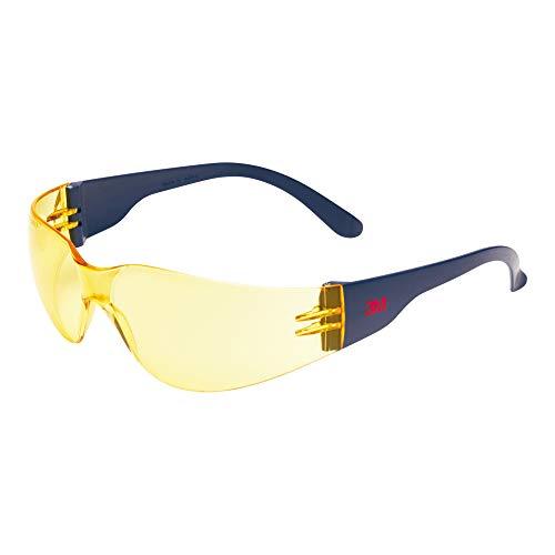 3M 2722 Schutzbrille AS/AF/UV, Polycarbonat, getönt gelb