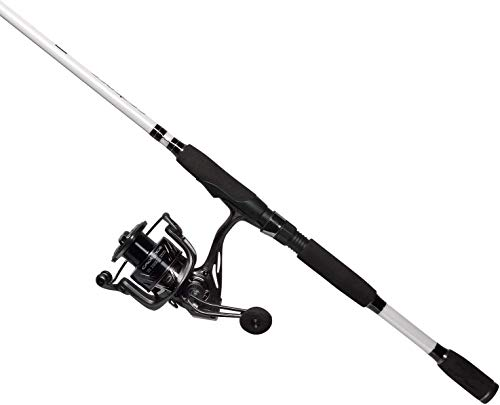 Cadence CC5 Spinning Combo Lightweight with 24-Ton Graphite 2-Piece Graphite Rod Carbon Fiber Drag System Smooth Strong Carbon Composite Frame & Side Plates Reel & Rod Combo(CC5-3000-70M)