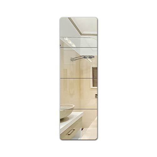 Kapperszaak mirror Aan de muur bevestigde decoratieve spiegel, stijlvolle mobiele huis Badkamer Woonkamer Gang Slaapkamer Decoration Kunst van de Tegel decoratieve spiegel aan de muur gemonteerde zelf