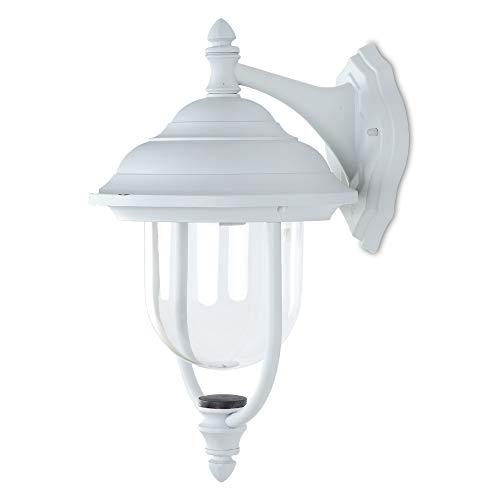 Außenwandleuchte in Weiß, klassische Form | Wandleuchte E27 230V | Wandlampe Außen max.60W |...
