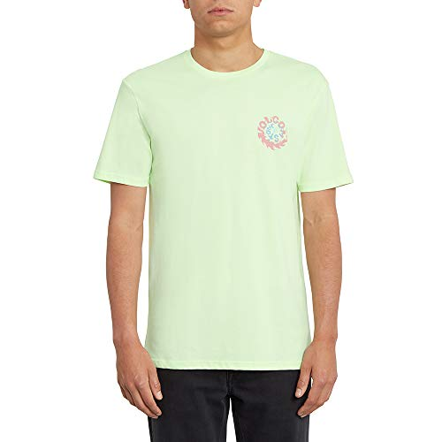 Volcom Throttle BSC SS kurzärmliges Herren-T-Shirt L grün (Key Lime)