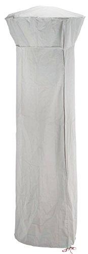 FAVEX - Housse Parasol Chauffant Gaz 86 cm - Protection UV - Anti-Vieillissement - Gris