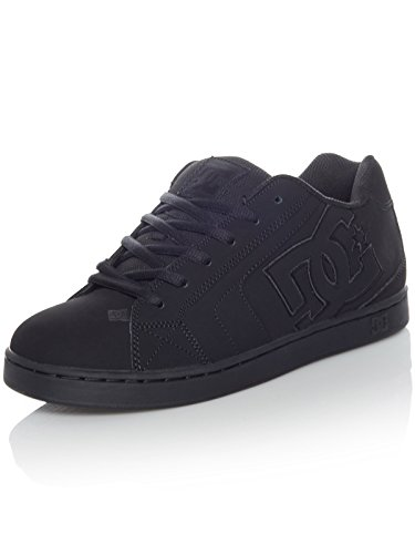DC Shoes Net, Chaussures de Skateboard Homme, Noir, 53.5 EU