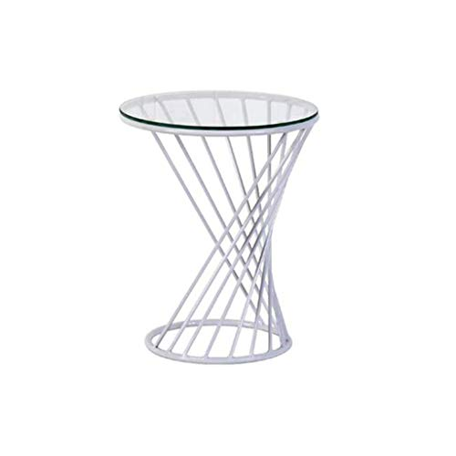 Huahua stoel eindtafels, koffie thee tafels, moderne kleine draad bijzettafel metaal koffie einde bijzettafel met, woonkamer tafel tuin vrije tijd tafel lezen tafel