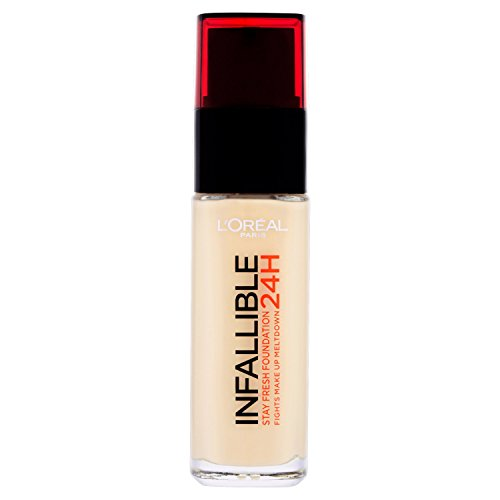 L'Oreal Paris Infallible 24H Foundation, 015 Porcelain, 30 ml