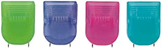 OfficeMax Brand Fabric Panel Wall Clips, Assorted Translucent Colors, Pack of 20