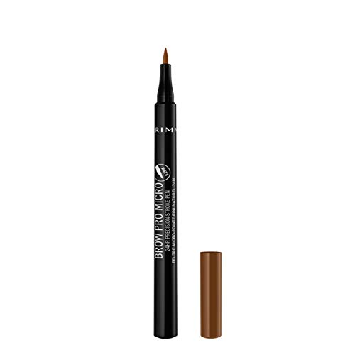 Rimmel Brow Pro Micro 24HR Precision-Stroke Pen, Shade 002 Honey Brown, 1 ml