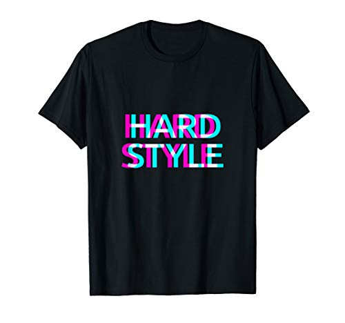 Hardstyle Hardtekk Hardcore Rave Techno Festival Outfit T-Shirt