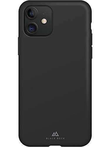 Black Rock - Fitness Case Hülle für Apple iPhone 11 | Sport, schweißresistent, Silikonhülle, dünn, rutschfest (Schwarz)