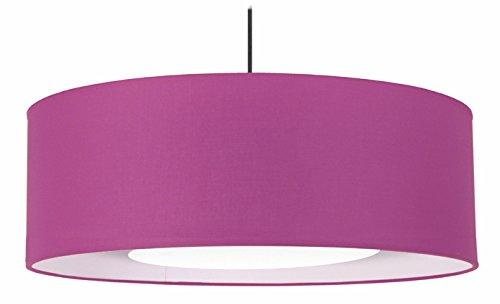 Tosel 14881Alfena 600D colgante tela/algodón/pvc 600x 900mm, Violet/Blanc, 600 x 900 mm