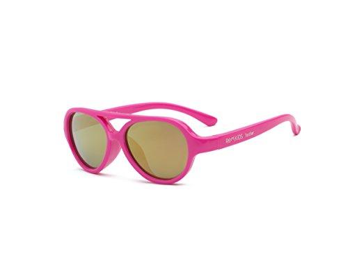 Real Kids Baby Jungen (0-24 Monate) Himmel Sonnenbrille rosa neon pink 2-4 Jahre
