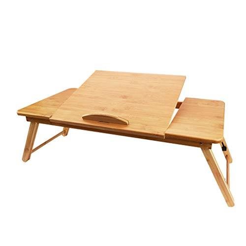 hongbanlemp Mesa auxiliar creativa mesa de café multifunción escritorio de computadora cama pequeño escritorio de altura ajustable tamaño de tamaño opcional mesa de aperitivos (tamaño : S)