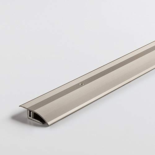 Parador Boden-Profile Anpassungsprofil Aluminium Edelstahl für Vinyl/Laminat Bodenbeläge 7-15 mm