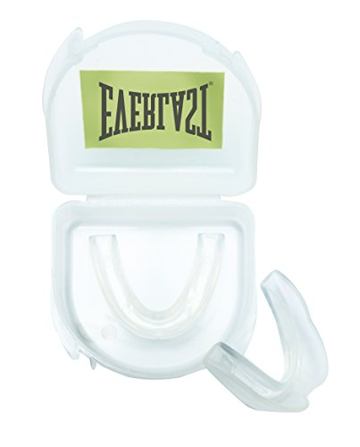 EVF5R|#Everlast Single, Paradenti Unisex-Adulto, Bianco, Taglia Unica
